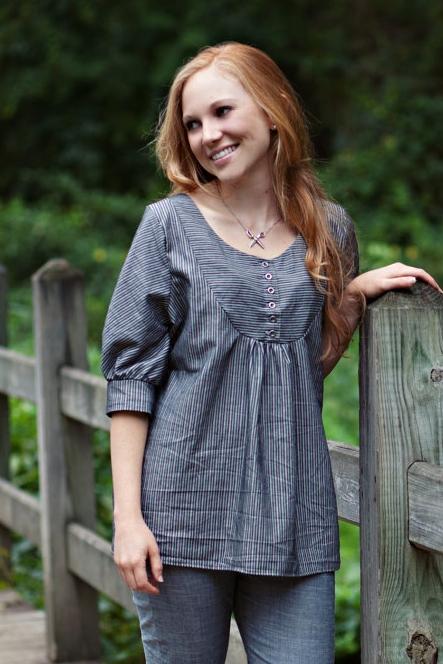 Esme Top PDF Sewing Pattern — Sew Liberated